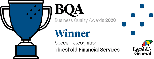 Legal & General Business Quality Awards 2017-18 - Winner - Special Recognition